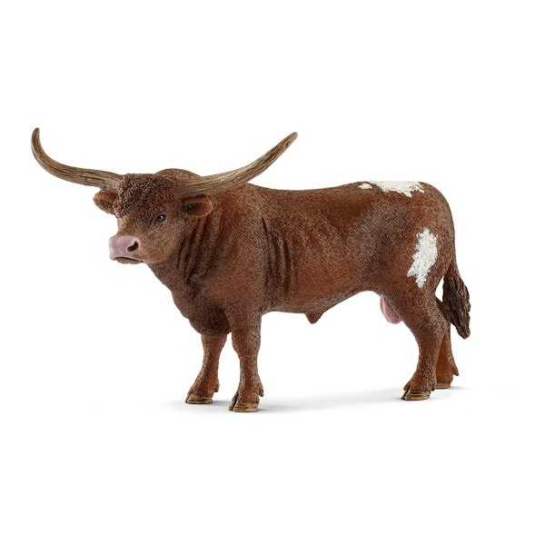 Texas Longhorn Bulle (Schleich 13866) Farm World