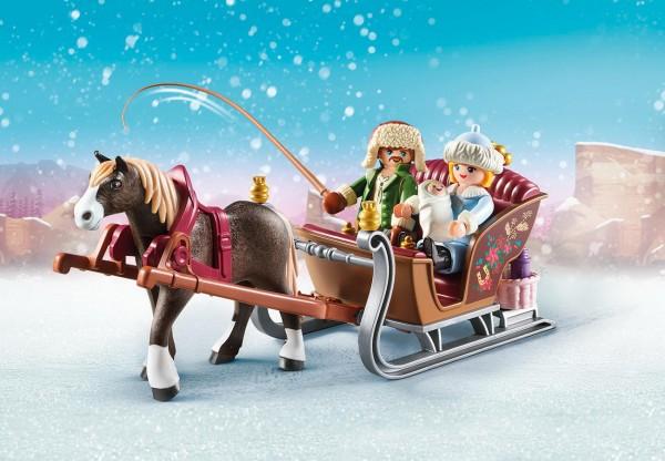 Playmobil 70397 - Winterliche Schlittenfahrt - Spirit - Riding Free