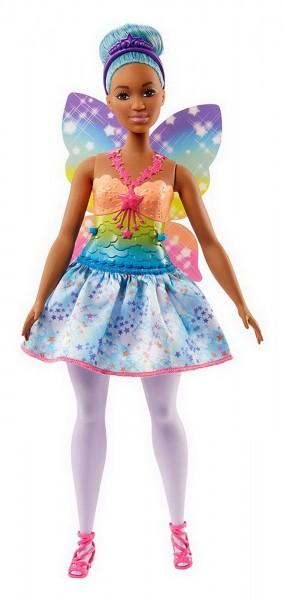 BARBIE Dreamtopia Regenbogen Fee blaue Haare (FJC87)