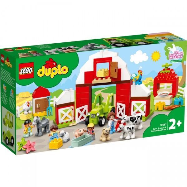 LEGO DUPLO 10952 - Scheune, Traktor und Tierpflege