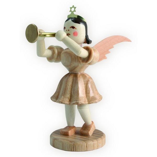 Blank Kurzrock-Engel mit Trompete