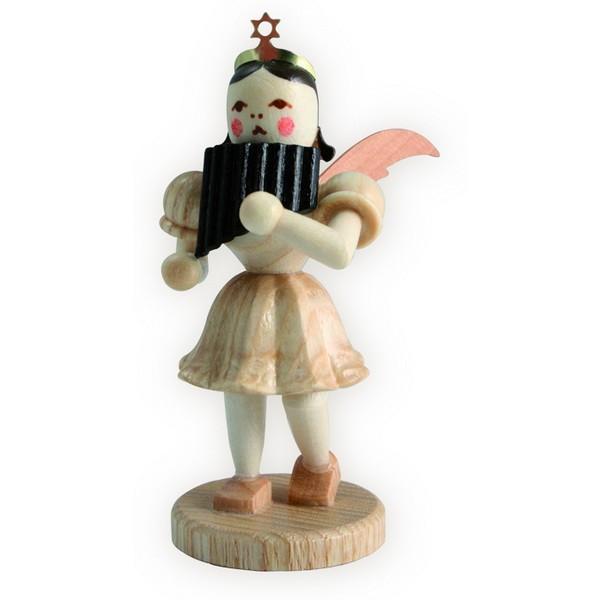 Blank Kurzrock-Engel mit Panflöte