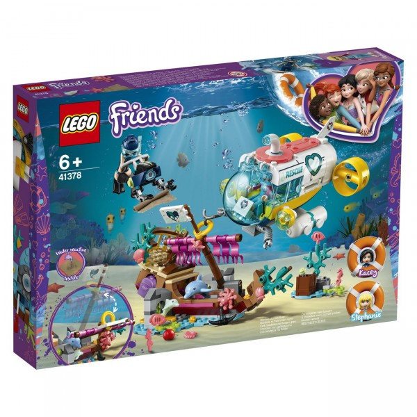 LEGO Friends 41378 - Rettungs-U-Boot für Delfine