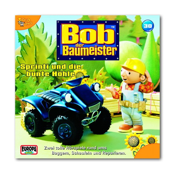 CD Bob der Baumeister: Sprinti und die bunte Höhle (30)