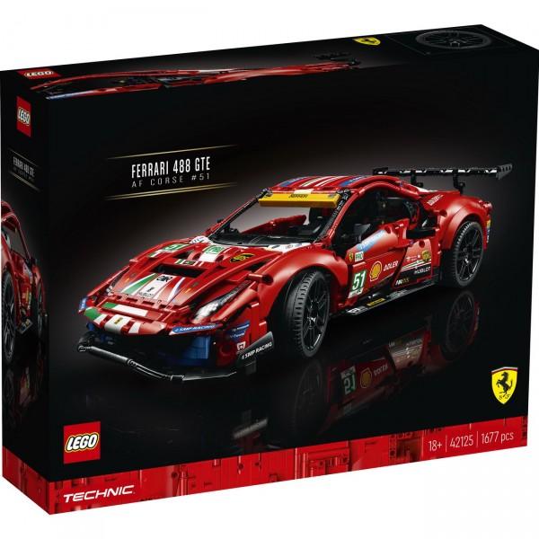 LEGO Technic 42125 - Ferrari 488 GTE AF Corse #51