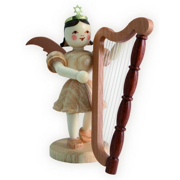 Blank Kurzrock-Engel mit Harfe