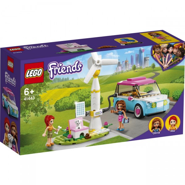 LEGO Friends 41443 - Olivias Elektroauto