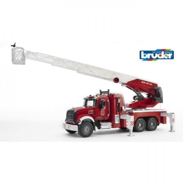 BRUDER 02821 - MACK Granite Feuerwehr