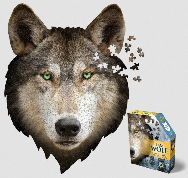 Konturen Puzzle Wolf (Madd Capp)