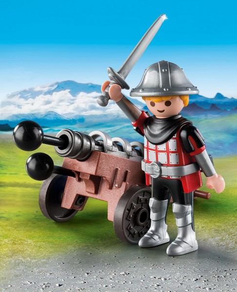 Playmobil 9441 - Ritter mit Kanone (Special Plus)