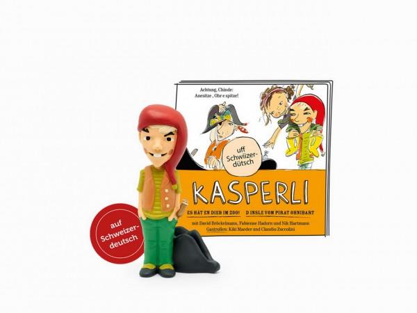 Tonies - Kasperli - Es hät en Dieb im Zoo - Pirat Ohnibart - Hörspiel