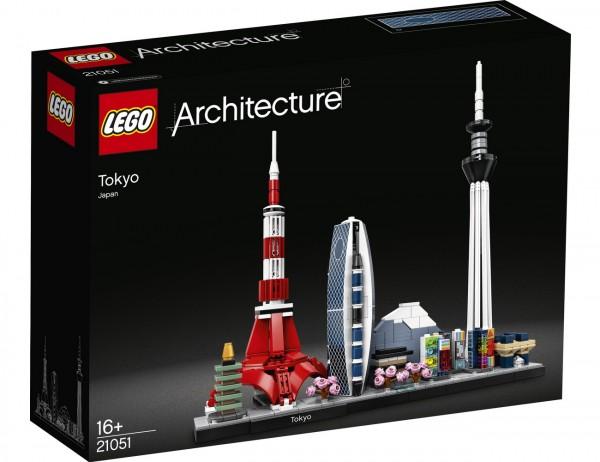 LEGO Architecture - Tokio Skyline 21051