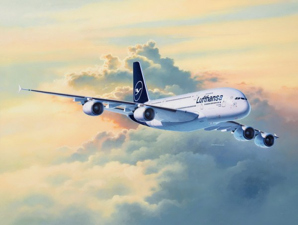 Revell 03872 - Airbus A380-800 Lufthansa New Livery