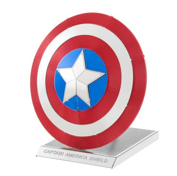 Metal Earth - Schild Captain America - Marvel Avengers