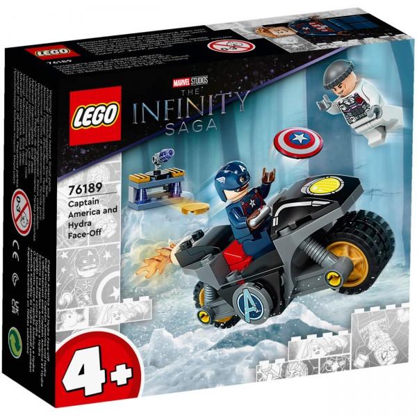 LEGO Marvel 76189 - Duell zwischen Captain America und Hydra