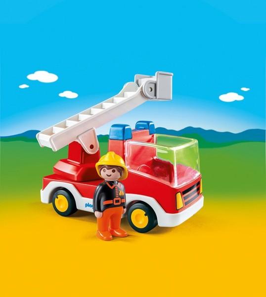Playmobil 6967 - 1.2.3 Feuerwehr Leiterfahrzeug