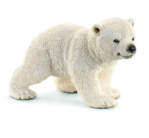 Eisbärjunges laufend - Schleich 14708 Wild Life