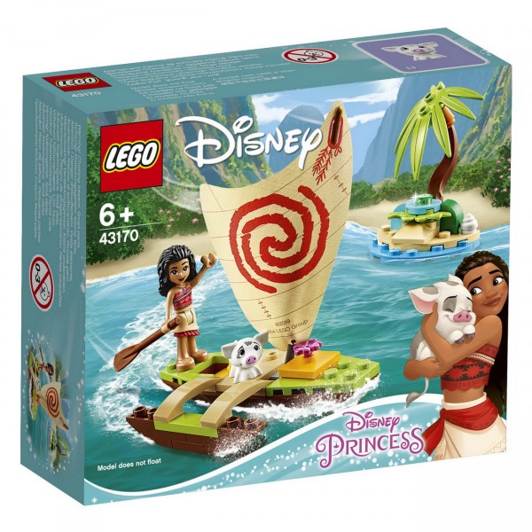 LEGO Disney Princess - Vaianas Boot (43170)
