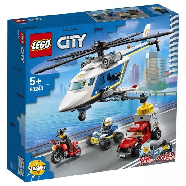 LEGO City - Verfolgungsjagd mit dem Polizeihubschrauber (60243)