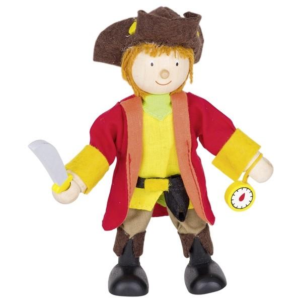 Biegepuppe Piratenkapitän (goki 51620)
