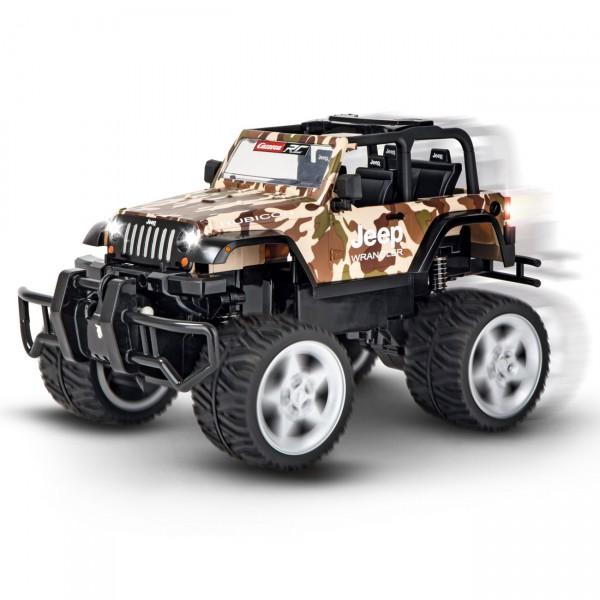 Carrera RC - Jeep® Wrangler Rubicon, camouflage (162122) RC Auto