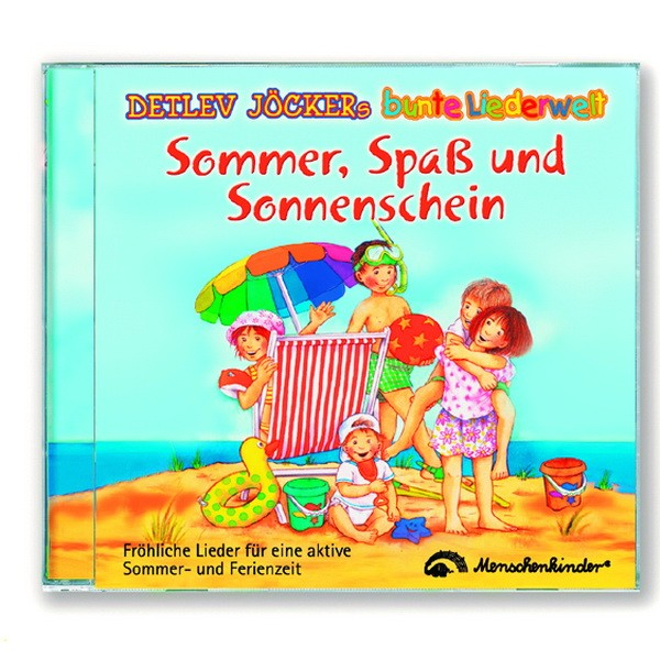 CD Detlev Jöcker: Sommer, Spaß und Sonnenschein