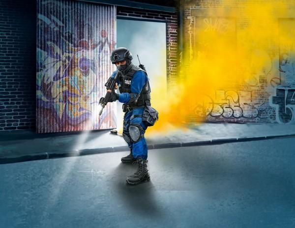 Revell 02805 - SWAT Officer - Modell Figur