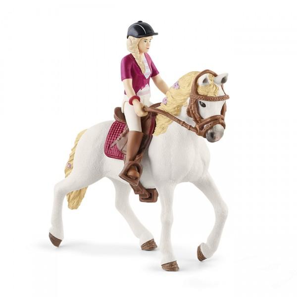 Sofia & Blossom - Reiterin und Pferd - Schleich (42540) Horse Club