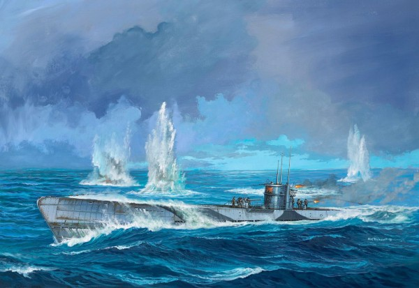 Revell 05166 - Deutsches U-Boot TYP IXC U67 U154 Modell