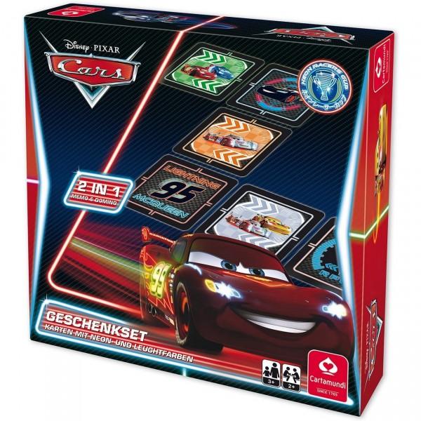 Disney Cars Neon Geschenkset (Cartamundi 22501457)