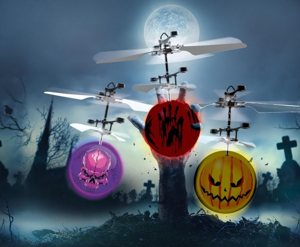 Revell Copter Ball Glow Skull - Halloween (24980)
