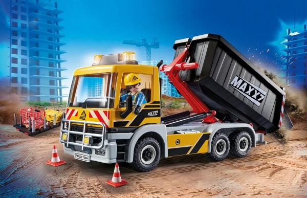 Playmobil 70444 - LKW mit Wechselaufbau - City Action