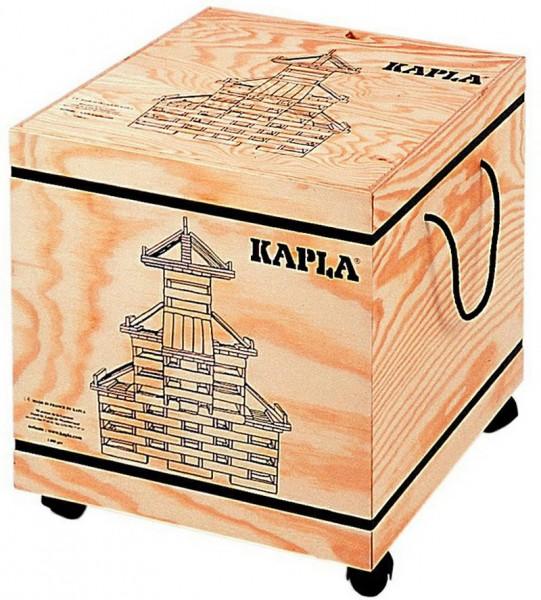 Kapla 1000er Kasten auf Rollen