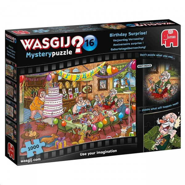 Wasgij Mystery 16 - Geburtstagsüberraschung - Puzzle