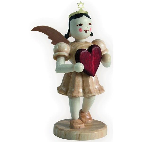 Blank Kurzrock-Engel mit Herz