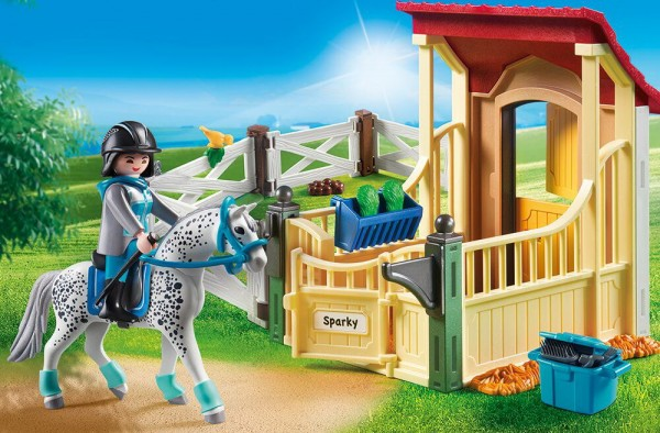 Playmobil 6935 - Pferdebox Appaloosa (Country)