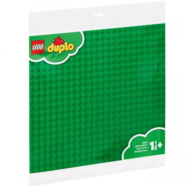 LEGO DUPLO 2304 - Große Bauplatte, grün