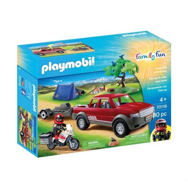 Playmobil 70116 - Abenteuer Pick-up (Family Fun)