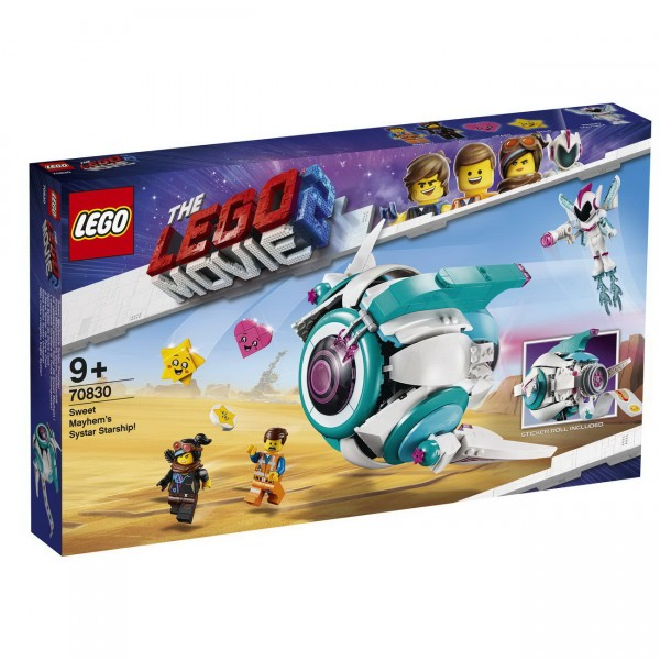 The LEGO Movie 2 70830 - Sweet Mischmaschs Systar Raumschiff