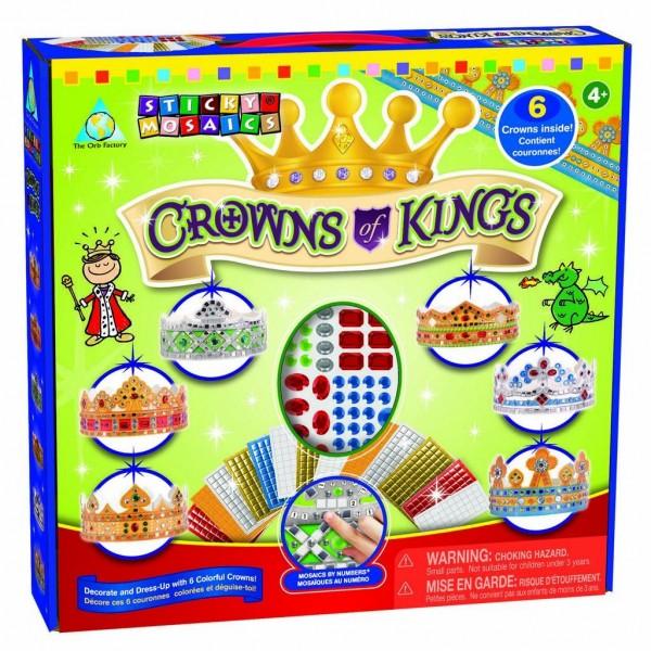 Sticky Mosaics Königliche Kronen