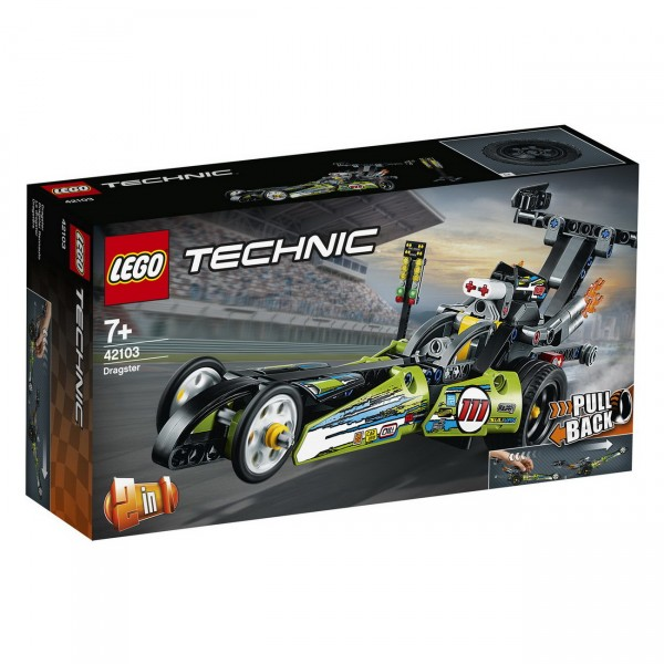 LEGO Technic - Dragster Rennauto (42103)