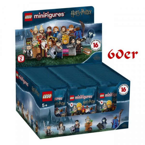 LEGO Minifiguren 71028 - Harry Potter Serie 2 - 60er Display