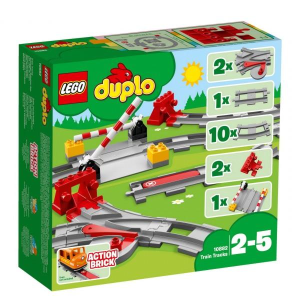 LEGO DUPLO 10882 - Eisenbahn Schienen