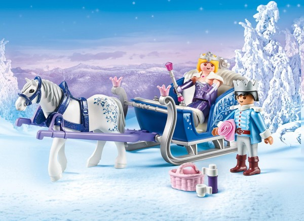 Playmobil Magic 9474 - Schlitten mit Königspaar