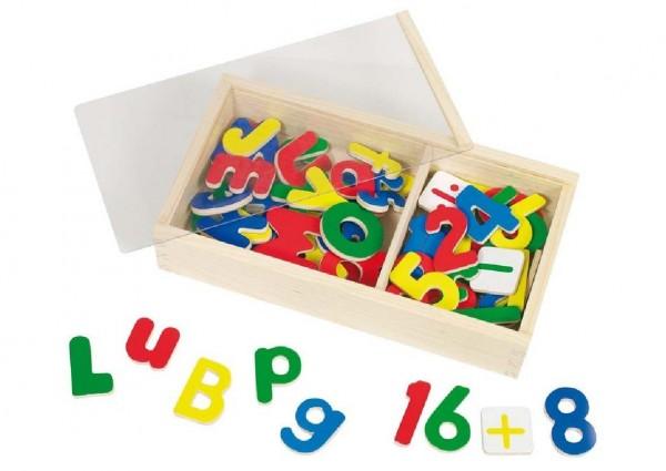 Magnet Alphabet und Zahlen (Goki 58955)