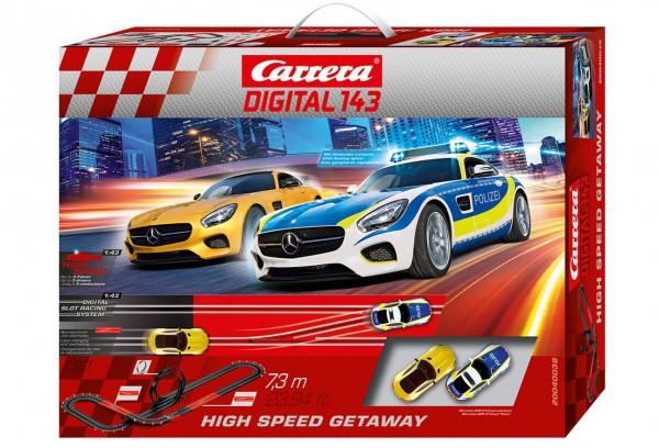 Carrera Digital 143 - High Speed Getaway (40038) Rennbahn