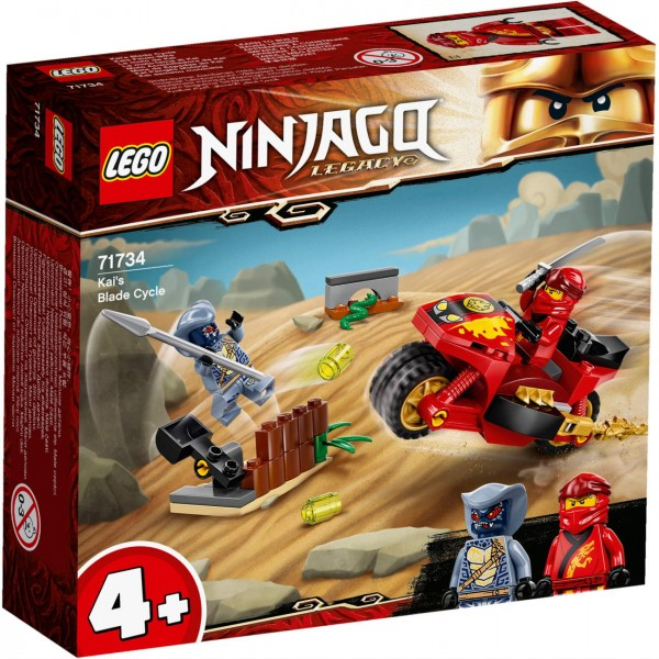 LEGO NINJAGO 71734 - Kais Feuer-Bike