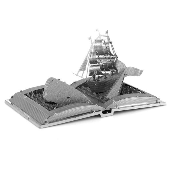 Metal Earth - Moby Dick Buch-Skulptur