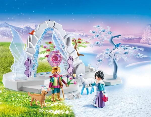 Playmobil Magic 9471 - Kristalltor zur Winterwelt