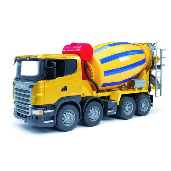 BRUDER 03554 - Scania R-Serie Betonmisch-LKW